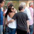 Michelle Yeoh et Jean Todt à Saint-Tropez, le 18 juillet 2010.