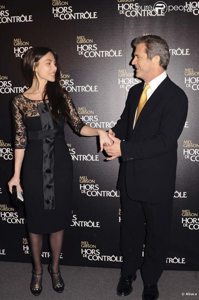 Mel Gibson et Oksana Grigorieva