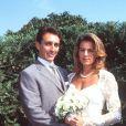 Stéphanie de Monaco épouse Daniel Ducruet, le 3 juillet 1995