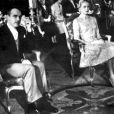 Le prince Rainier et Grace Kelly le jour de leur mariage civil, le 18 avril 1956