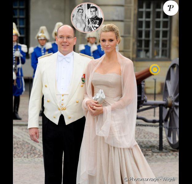 Charlene et Albert s'uniront en juillet 2010. L'assemblée aura certainement une pensée pour Grace et Rainier III.