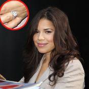 America Ferrera, fiancée, nous montre enfin sa ravissante bague !