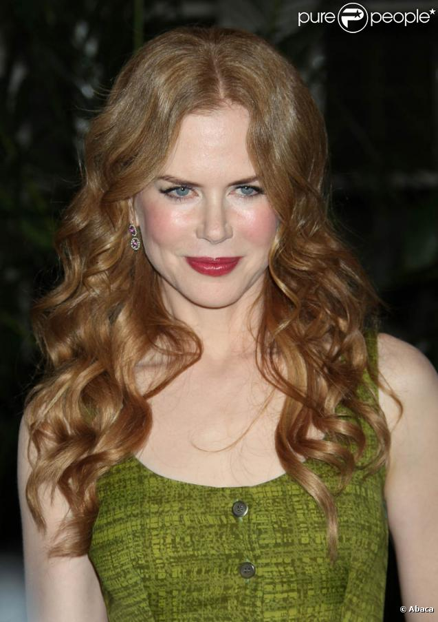 La ravissante Nicole Kidman à l'occasion du dîner annuel de The Hollywood Foreign Press Association, au Four Seasons Hotel de Beverly Hills, le 28 juillet 2010.