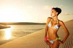 Quand la magnifique Raica Oliveira exhibe son corps de rêve en plein désert...