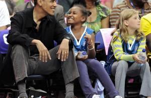 Barack Obama : Sa fille Sasha est une adorable supportrice !
