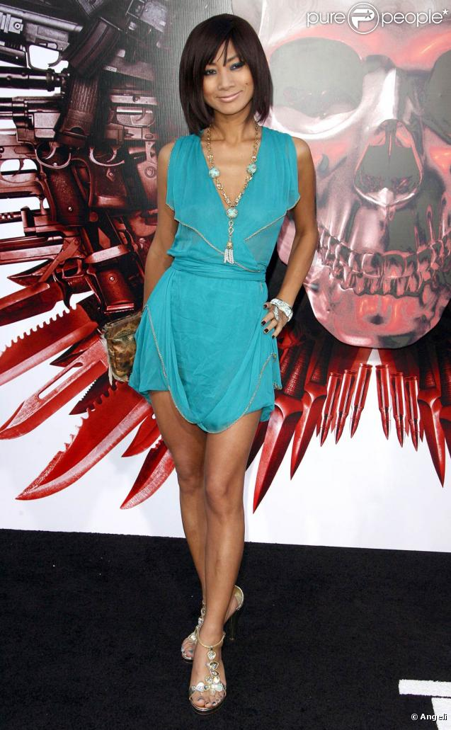 Bai Ling, lors de l'avant-première de The Expendables , au Graumann's Chinese Theatre d'Hollywood, à Los Angeles, le 3 août 2010.