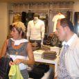 Freddy en séance relooking à Niort, avec sa conseillère (fin juillet 2010)