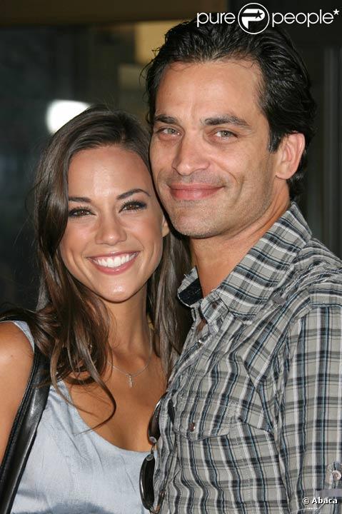 Johnathon Schaech et Jana Kramer en août 2009 à Hollywood