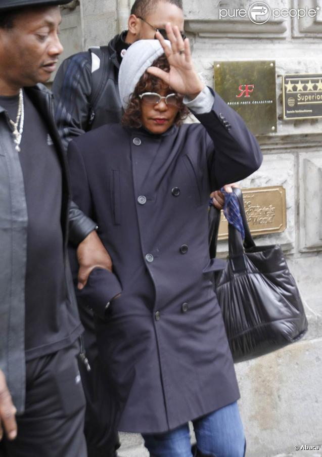 La chanteuse américaine Whitney Houston