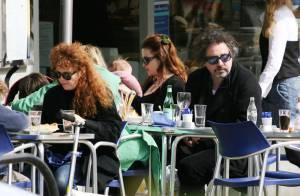 PHOTOS : La famille de Tim Burton voit enfin le jour...