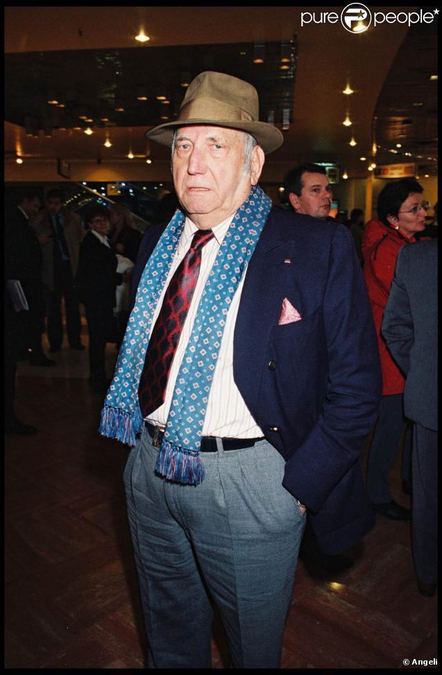 François Marcantoni, alias Monsieur François, est mort mardi 17 août 2010 à l'hôpital du Val de Grace...