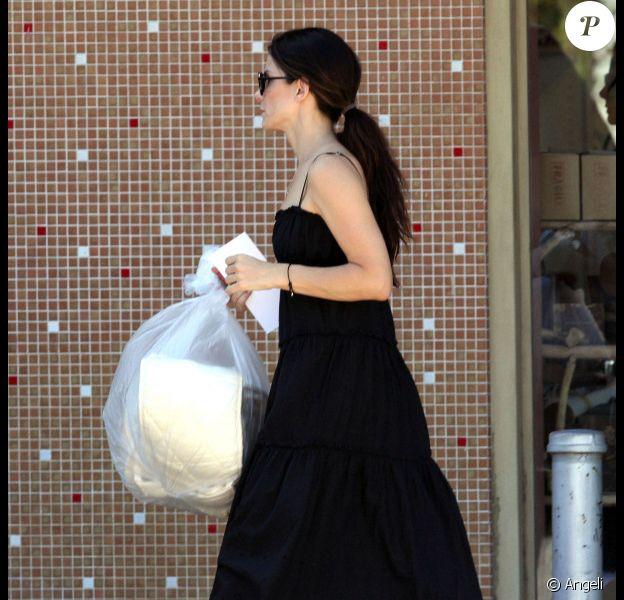 Sandra Bullock à Los angeles, le 22 août 2010