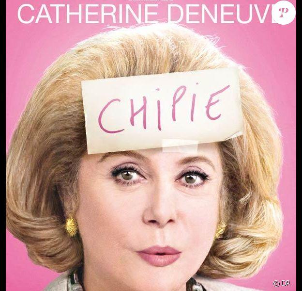 Catherine Deneuve s'affiche pour Potiche de François Ozon