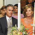 Le 25 août 2010, le prince Nikolaos de Grèce, 40 ans, et sa belle Tatiana Blatnik, 29 ans, se mariaient, au coucher de soleil, sur l'île grecque de Spetses. Photo : les parents de la mariée.