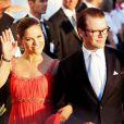 Le 25 août 2010, le prince Nikolaos de Grèce, 40 ans, et sa belle Tatiana Blatnik, 29 ans, se mariaient, au coucher de soleil, sur l'île grecque de Spetses. Victoria et Daniel de Suède à la noce.