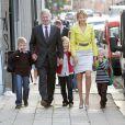 Le 1er septembre 2010, accompagnés par leurs parents Philippe et Mathilde, le prince Gabriel, la princesse Elisabeth et le prince Emmanuel faisaient leur rentrée des classes, à Bruxelles.