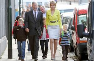 Les petits princes Gabriel, Emmanuel et Elisabeth de Belgique ont les parents d'élèves les plus chic !