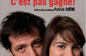 Juliette Chêne et Jean-Charles Chagachbanian : Amoureux à la ville, séparés sur les planches !