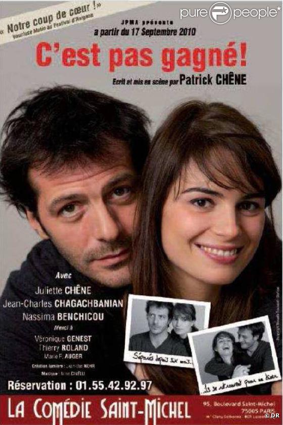 C'est pas Gagné, avec Juliette Chêne et Jean-Charles de Chagachbanian