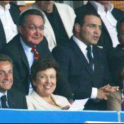 Nicolas Sarkozy, Pascal Obispo, Cécile de Ménibus et tous les people et politiques qui ont encouragé en vain les Bleus...