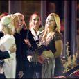 La Princesse Madeleine de Suède avec des amies avant son départ pour New York