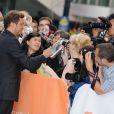 Colin Firth à la présentation du film The King's Speech, au Festival du film à Toronto
