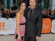 Colin Firth : Toujours élégant sur tapis rouge, au côté de sa très belle femme !