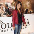 Shirley Bousquet lors de la présentation du film Ces amours-là à Paris le 12 septembre 2010