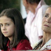"""L'infante Elena et sa fille Victoria, la star du Real Kaka et son petit Luca : ça """"jumpe"""" à Madrid !"""