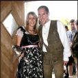 Franck Ribéry et son épouse Wahiba
