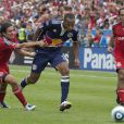 Thierry Henry sous son maillot des New York Red Bulls