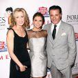 Eva Longoria, Felicity Huffman et Andy Garcia lors du Gala Padres contra el Cancer à Los Angeles le 23/09/10