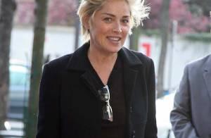 Sharon Stone : une Américaine à Paris, day 2 !