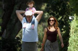 Alyson Hannigan, son mari et la petite Satyana : la famille du bonheur ?