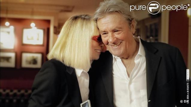 Alain Delon et Mireille Darc réunis pour + de Vie