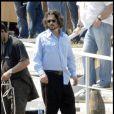 Johnny Depp sur le tournage de The Tourist