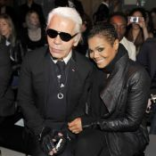 Janet Jackson et Karl Lagerfeld réunis pour une soirée sophistiquée !