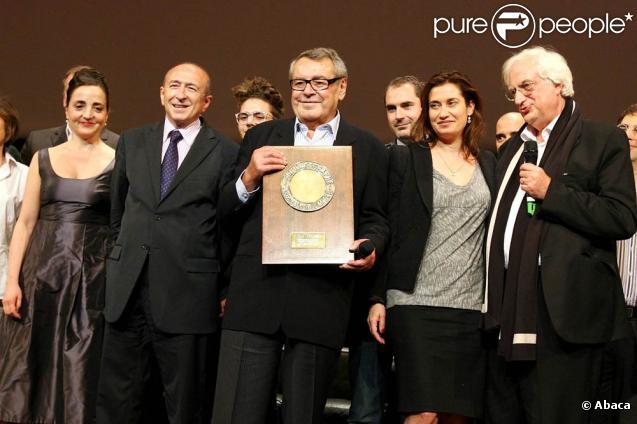 Samedi 9 octobre 2010, le cinéaste Milos Forman recevait le Prix Lumière du 2e Festival du Film de Lyon, récompensant l'ensemble de son oeuvre !
