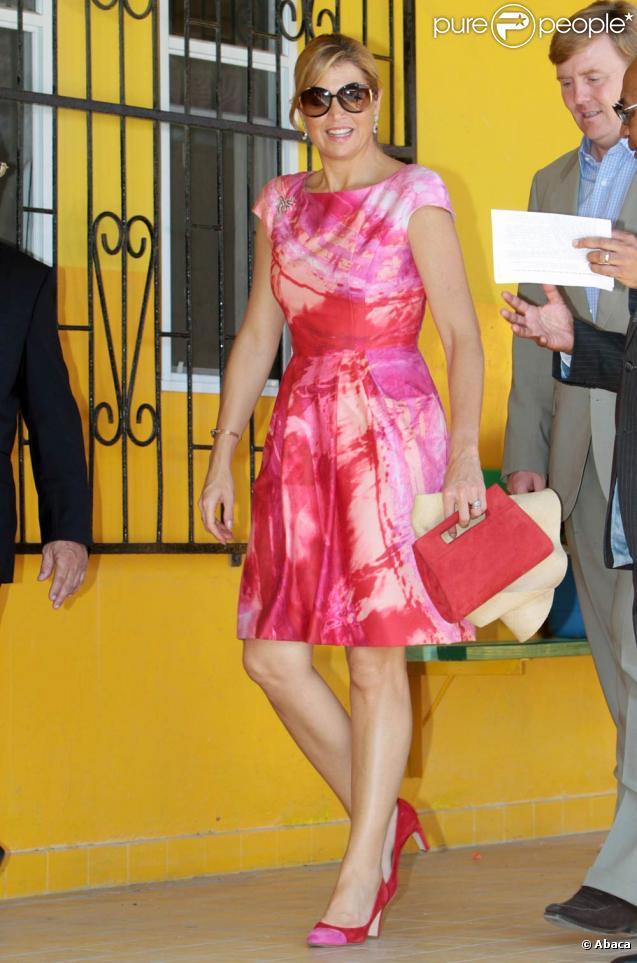Willem-Alexander et Maxima des Pays-Bas officialisaient le 10 octobre 2010 la dissolution de la Fédération des antilles néerlandaises !