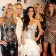 Kathy Hilton, Kim Richards, Kyle Richards, Nicky et Paris Hilton lors de la soirée The Real Housewives of Beverly Hills à Trousdale à West Hollywood le 11 octobre 2010
