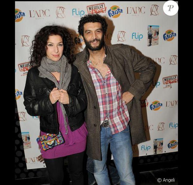 Ramzy Bédia et Anne Depetrini en novembre 2009