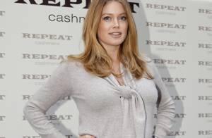 Doutzen Kroes : A six mois de grossesse, elle est simplement radieuse !