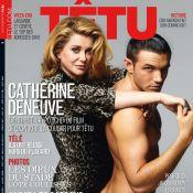 Catherine Deneuve joue les cougars avec un homme nu !