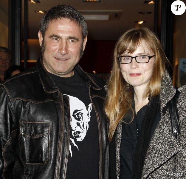 Sergi Lopez et Isabelle Carré lors du festival des jeunes réalisateurs de Saint-Jean-de-Luz le 15 octobre 2010