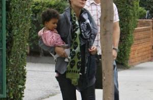 Heidi Klum et Seal : Rois de l'organisation et fous de leurs deux filles !