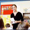Lecture de la dictée d'ELA à l'école Blanche de Castille à Paris, le 18 octobre 2010 : Emmanuelle Boidron