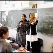"""Emmanuelle Boidron de """"Navarro"""" et Najoua Belyzel retournent à l'école !"""