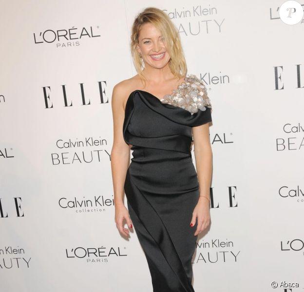 Kate Hudson lors des Elle Annual Women in Hollywood Tribute le 18/10/10