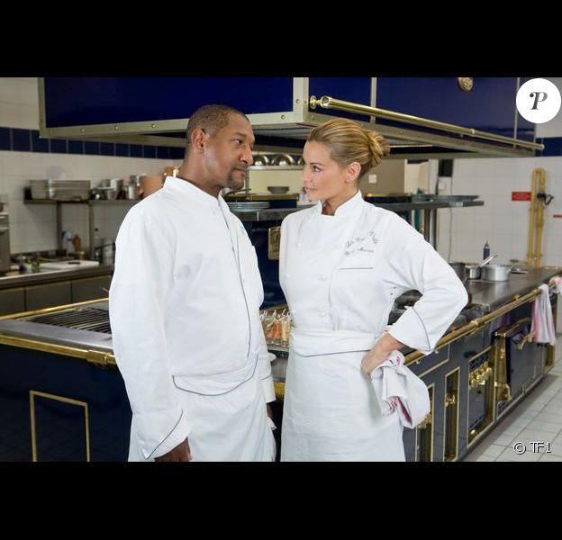 Edouard Montoute et Ingrid Chauvin dans Les Toqués