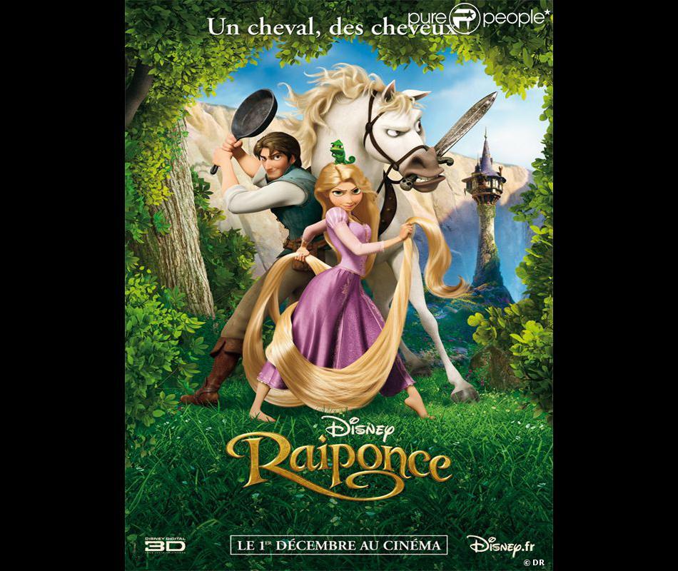 L 39 affiche du film raiponce purepeople - Mechante raiponce ...